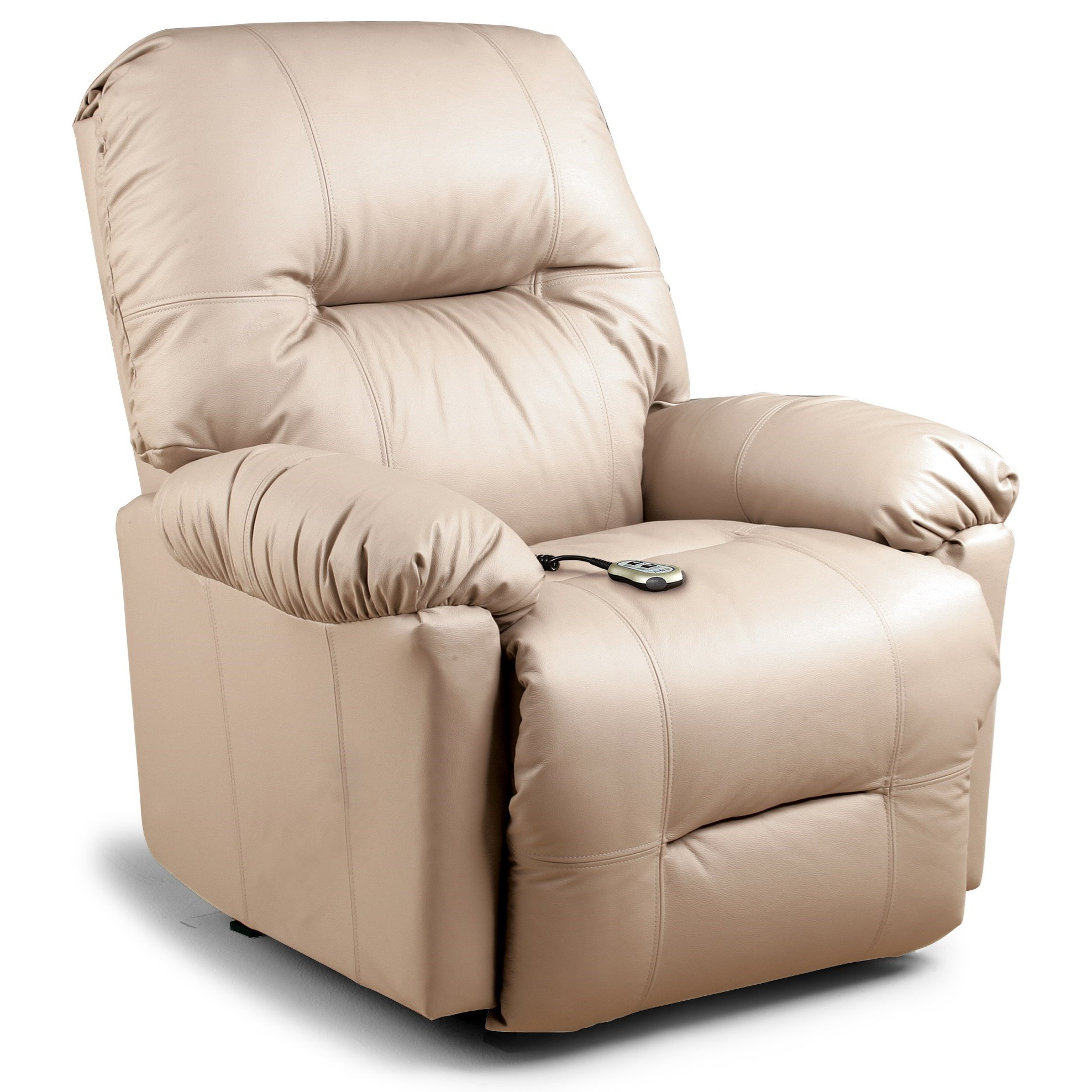 Best home furnishings recliners petite wynette power for Best furnishings