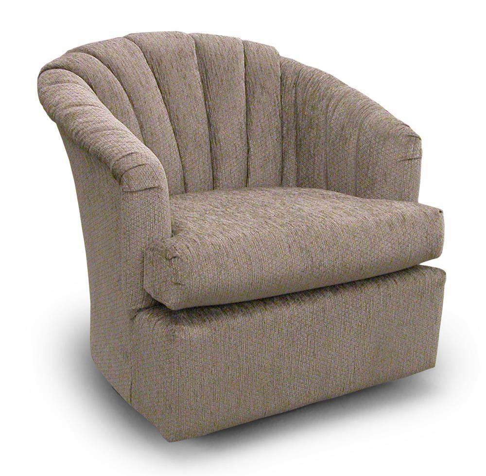 Best Home Furnishings Chairs Swivel Barrel 2558 Elaine Swivel Barrel Chair Hudson 39 S