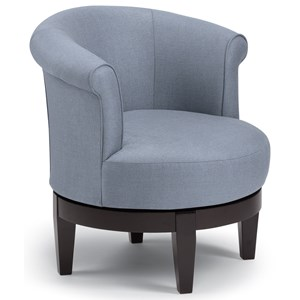 Elaine Swivel Barrel Chair Chairs Swivel Barrel By