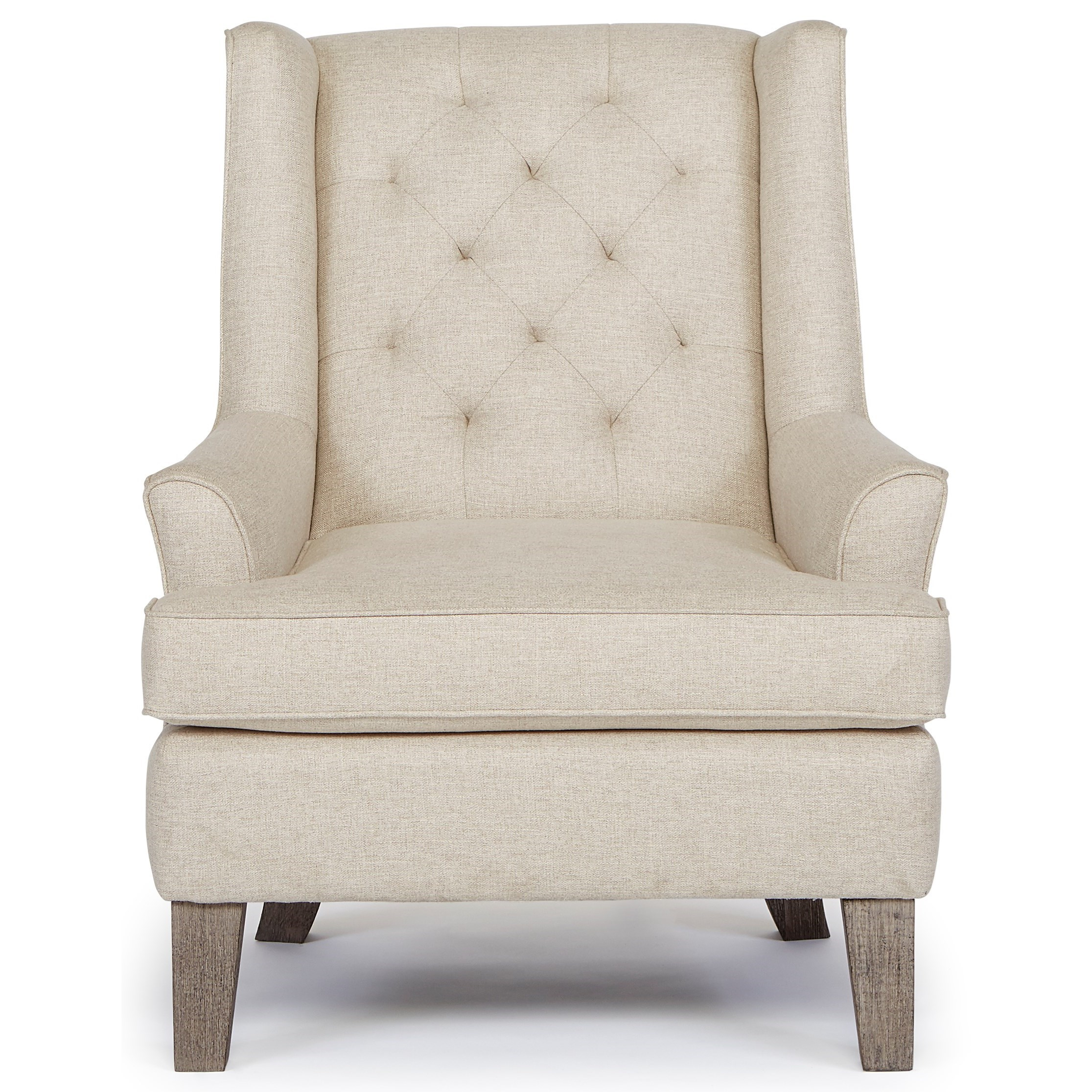 Best home furnishings chairs wing back rebecca wing for Best furniture for home