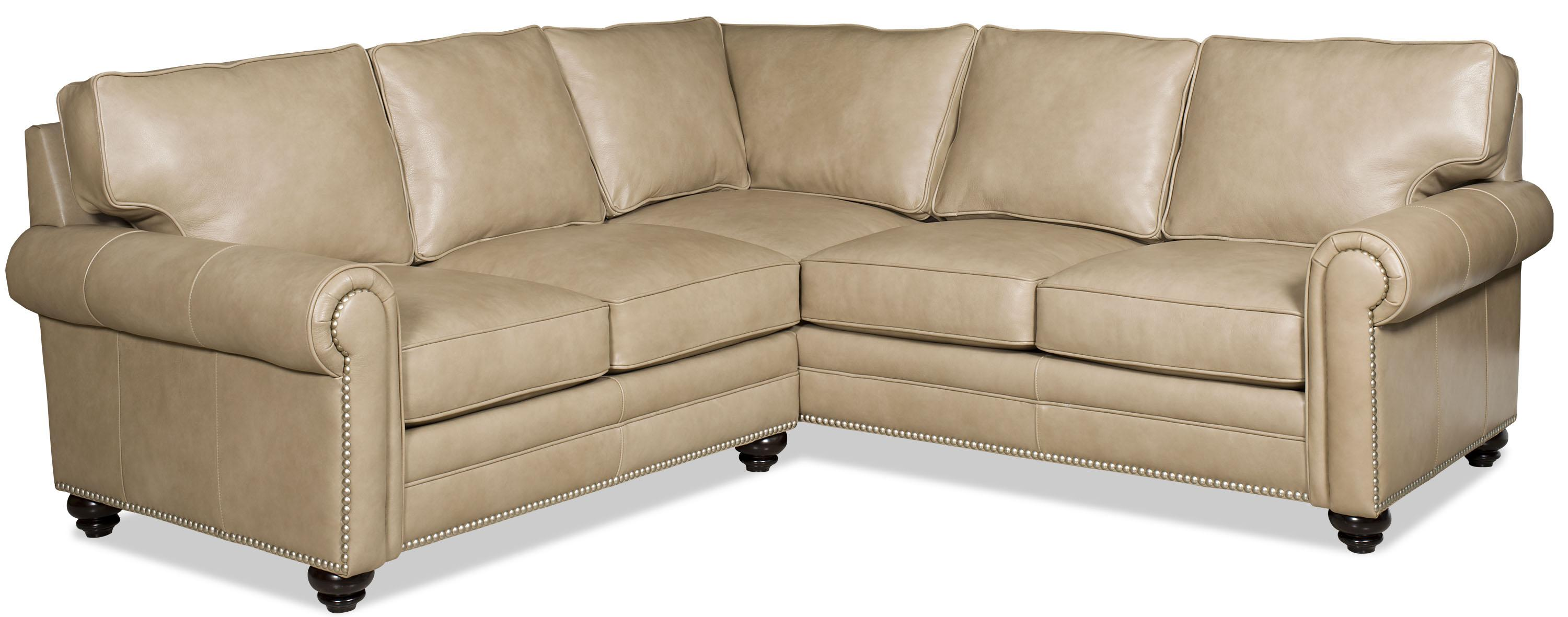 Bradington young daylen two piece customizable sectional for Sectional sofa jacksonville