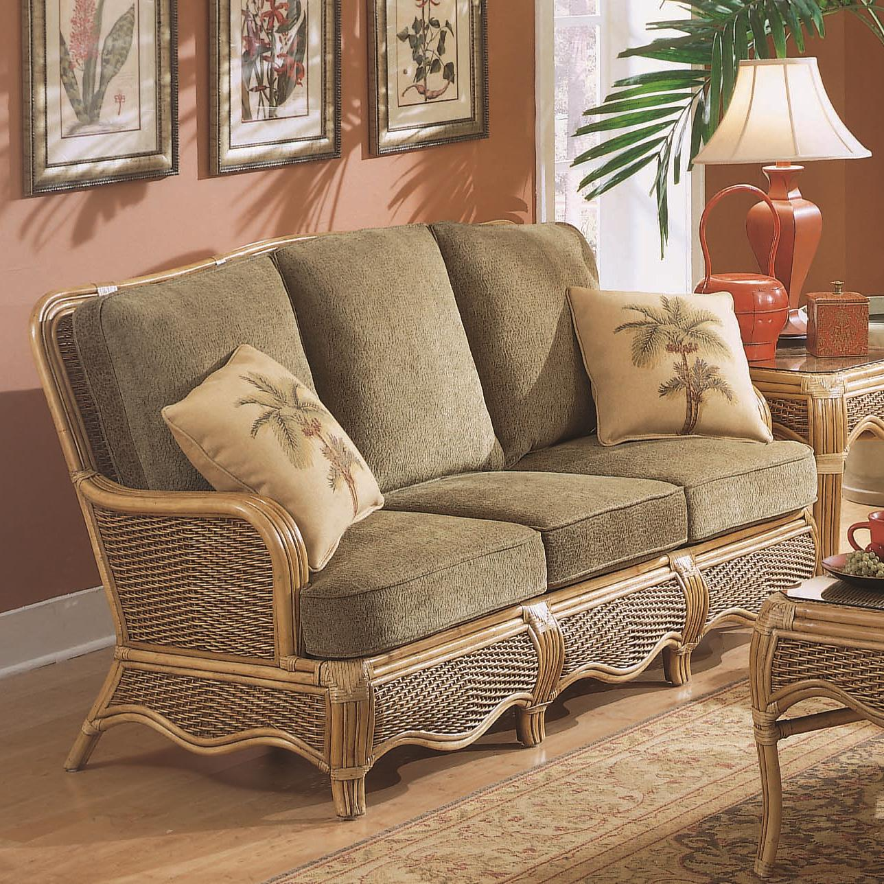 Braxton Culler Shorewood 1910-011 Tropical Rattan Three ...