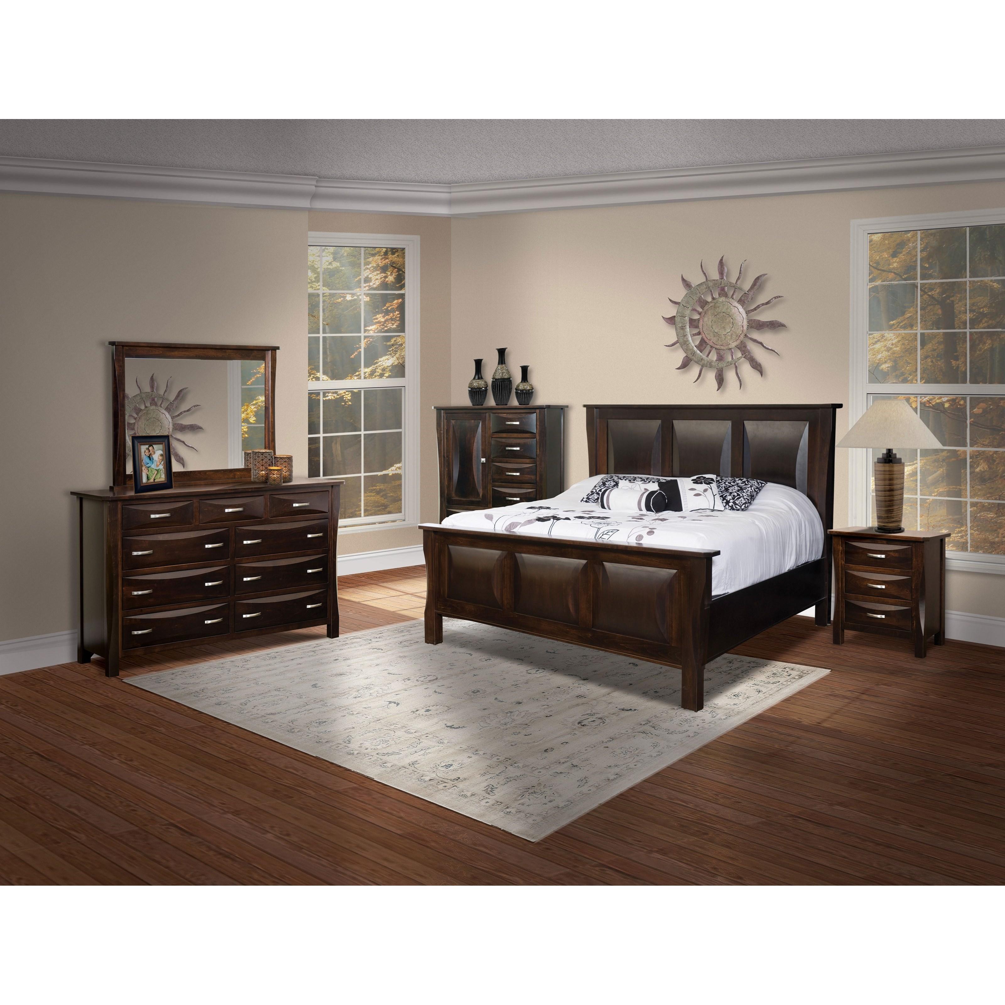 Brookside furniture preston queen bedroom group mueller furniture bedroom groups Bedroom furniture preston