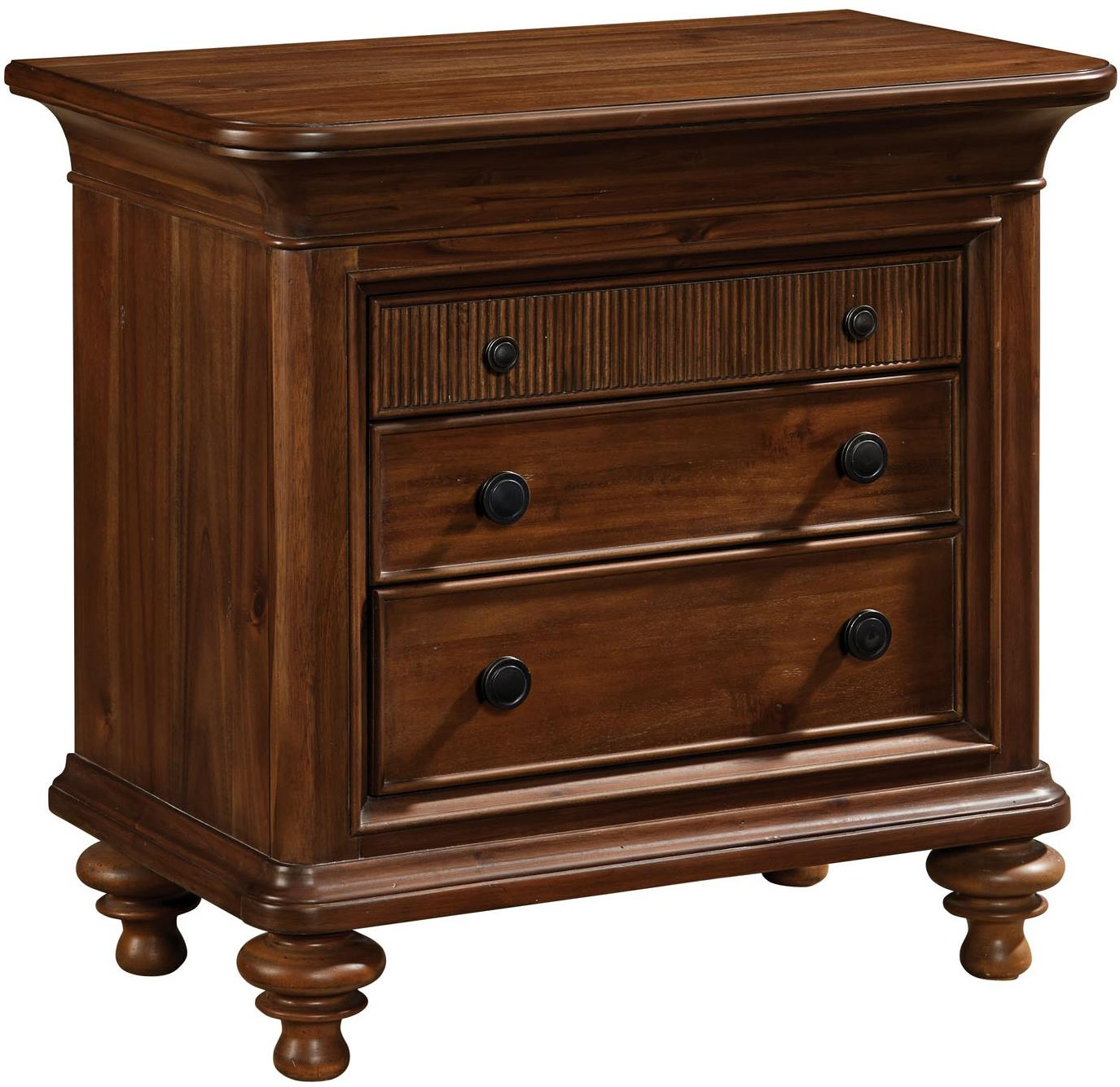 Broyhill Furniture Cascade Nightstand with 3 Drawers