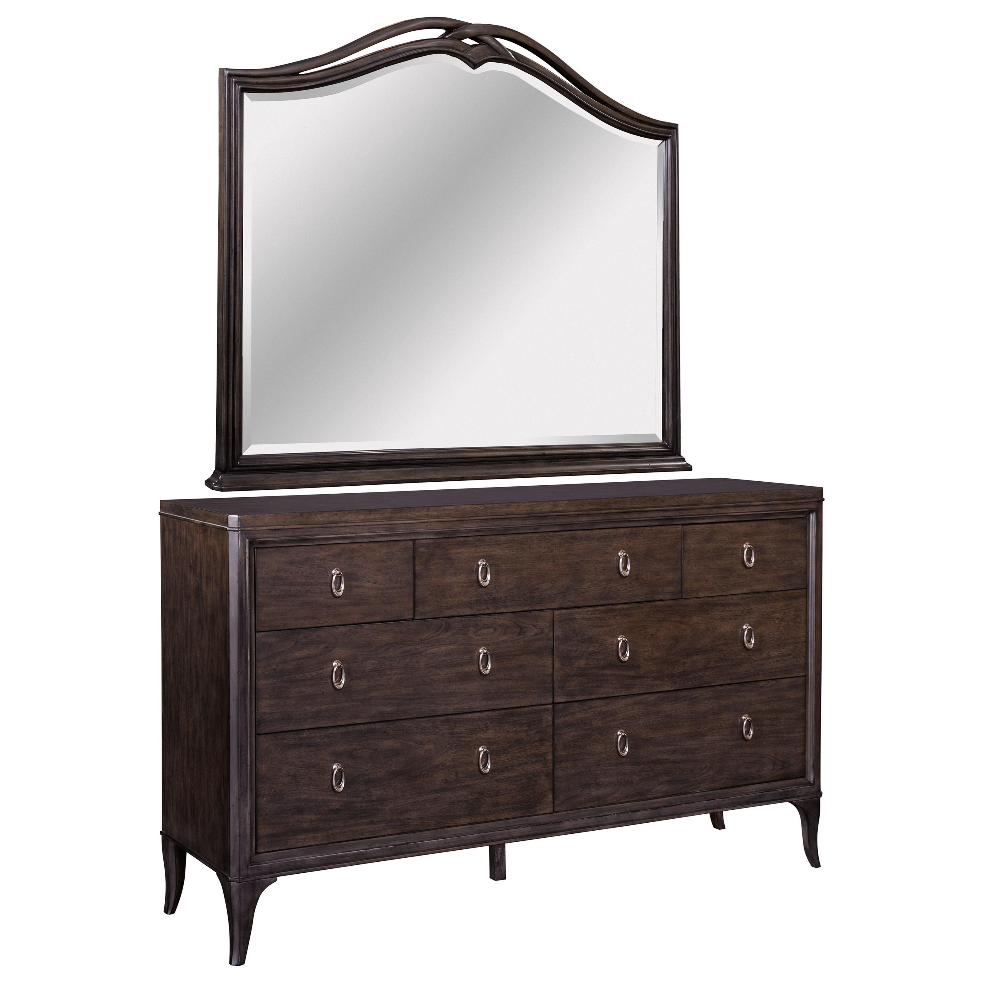 furniture dresser mirror sets broyhill furniture cashmera dresser