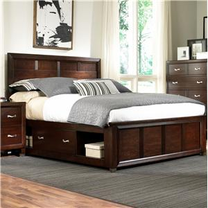Broyhill Furniture Eastlake 2 King Captain 39 S Bed With