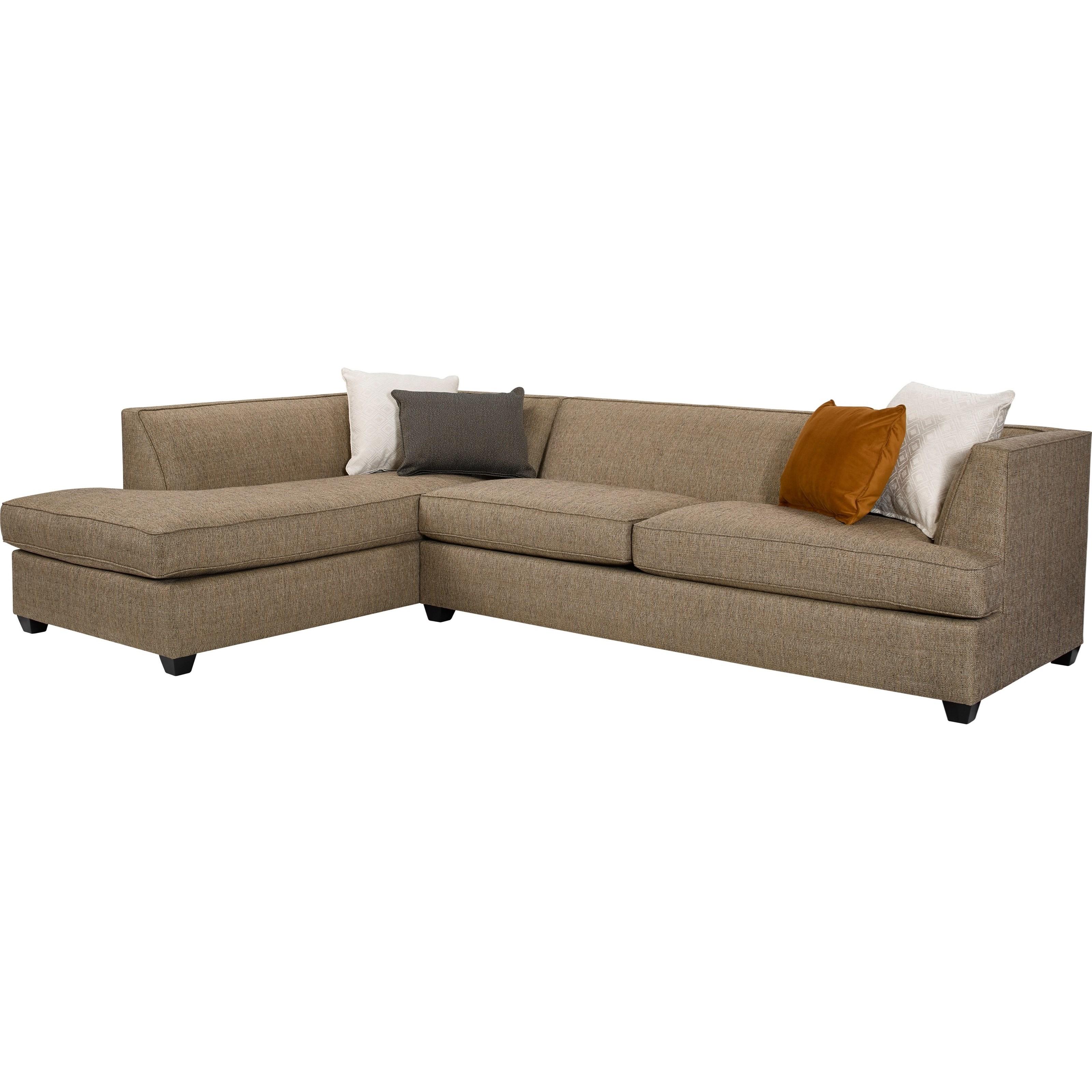 Broyhill furniture farida 2 piece sectional sofa with laf for Broyhill sectional sofa with chaise