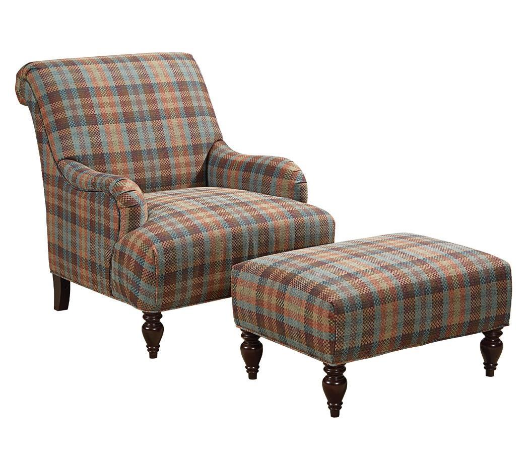Broyhill furniture isla chair and ottoman set becker for Furniture world