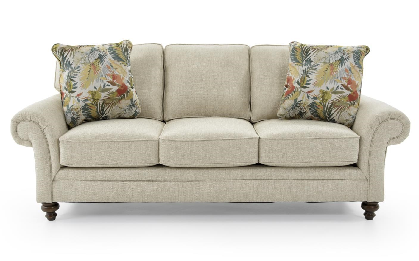 Broyhill furniture larissa 6112 3 4666 92 upholstered for Best quality upholstered furniture