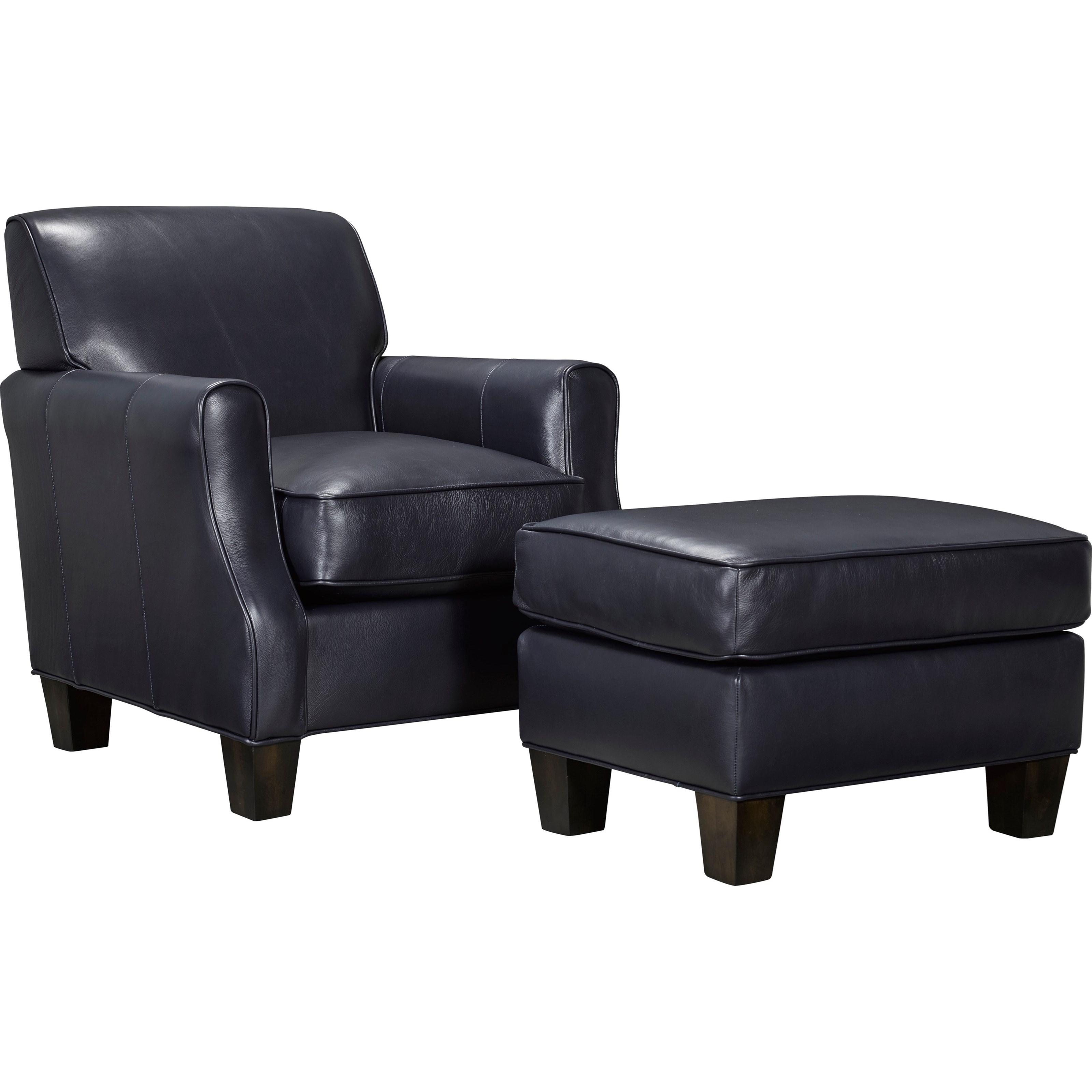 Chair Ottoman Sets Klaussner Tiburon Chair And Ottoman