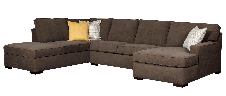 Broyhill sectional sofa broyhill furniture raphael for Raphael contemporary sectional sofa