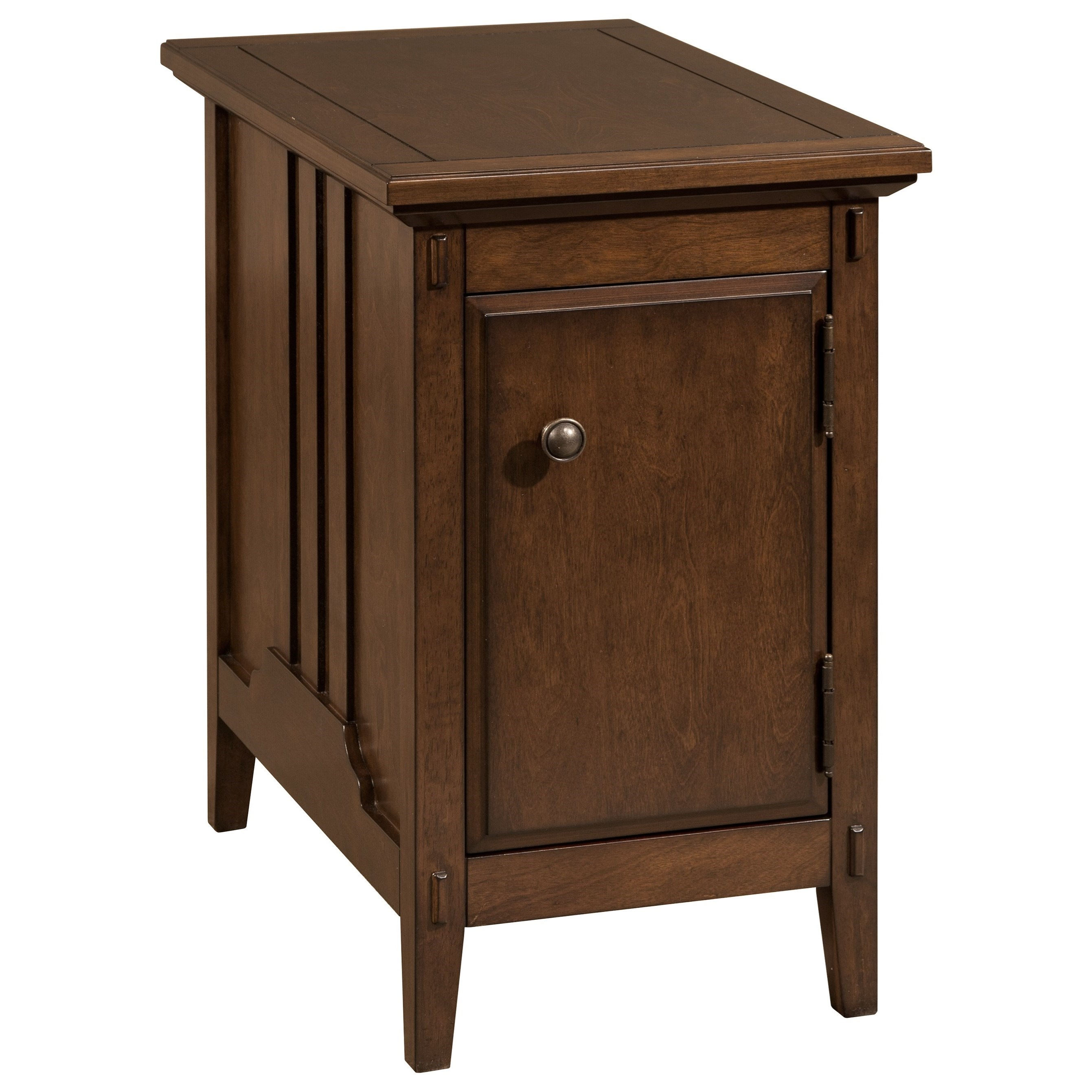 Cherry Side Table ~ Broyhill furniture aryell cherry accent table