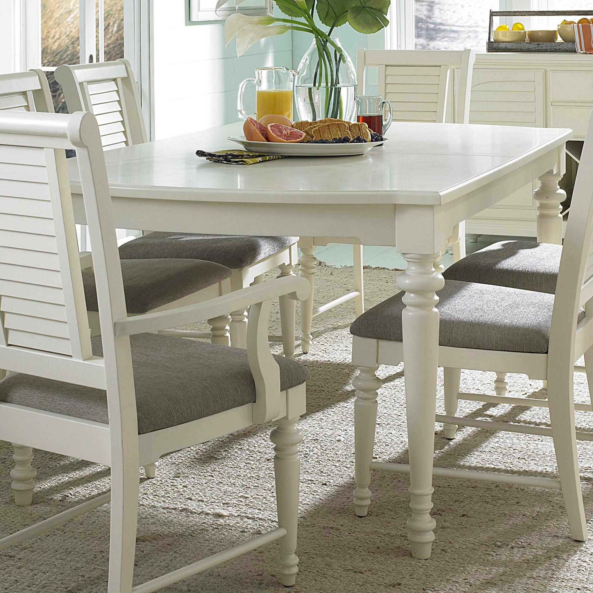 Broyhill furniture seabrooke 4471 532 turned leg dining for White turned leg dining table