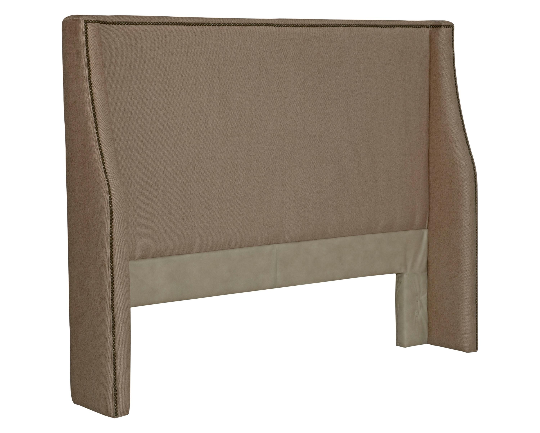 Broyhill furniture upholstered headboards hamlyn queen for Queen size headboard