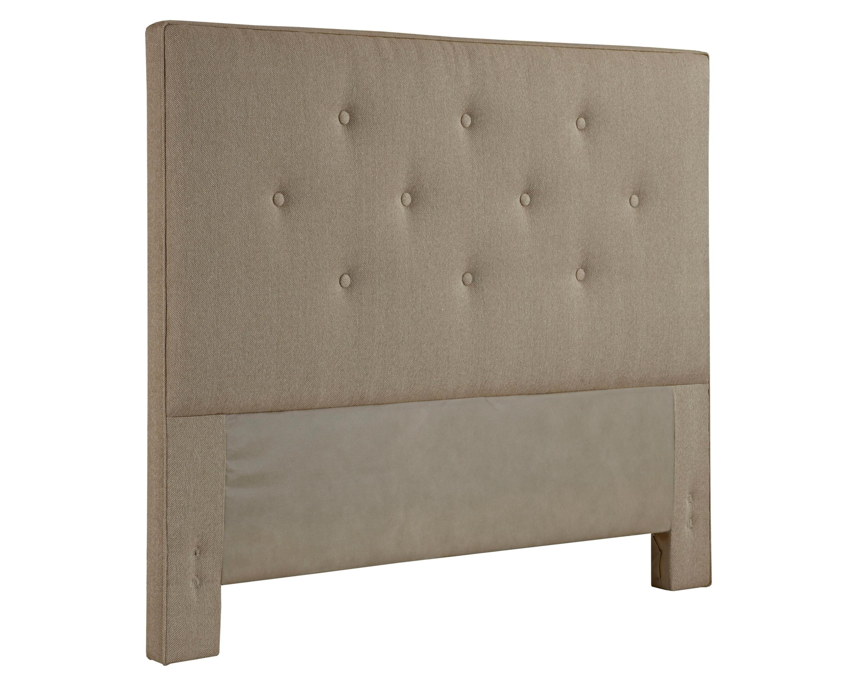 Broyhill furniture upholstered headboards sterlyn queen for Queen size headboard