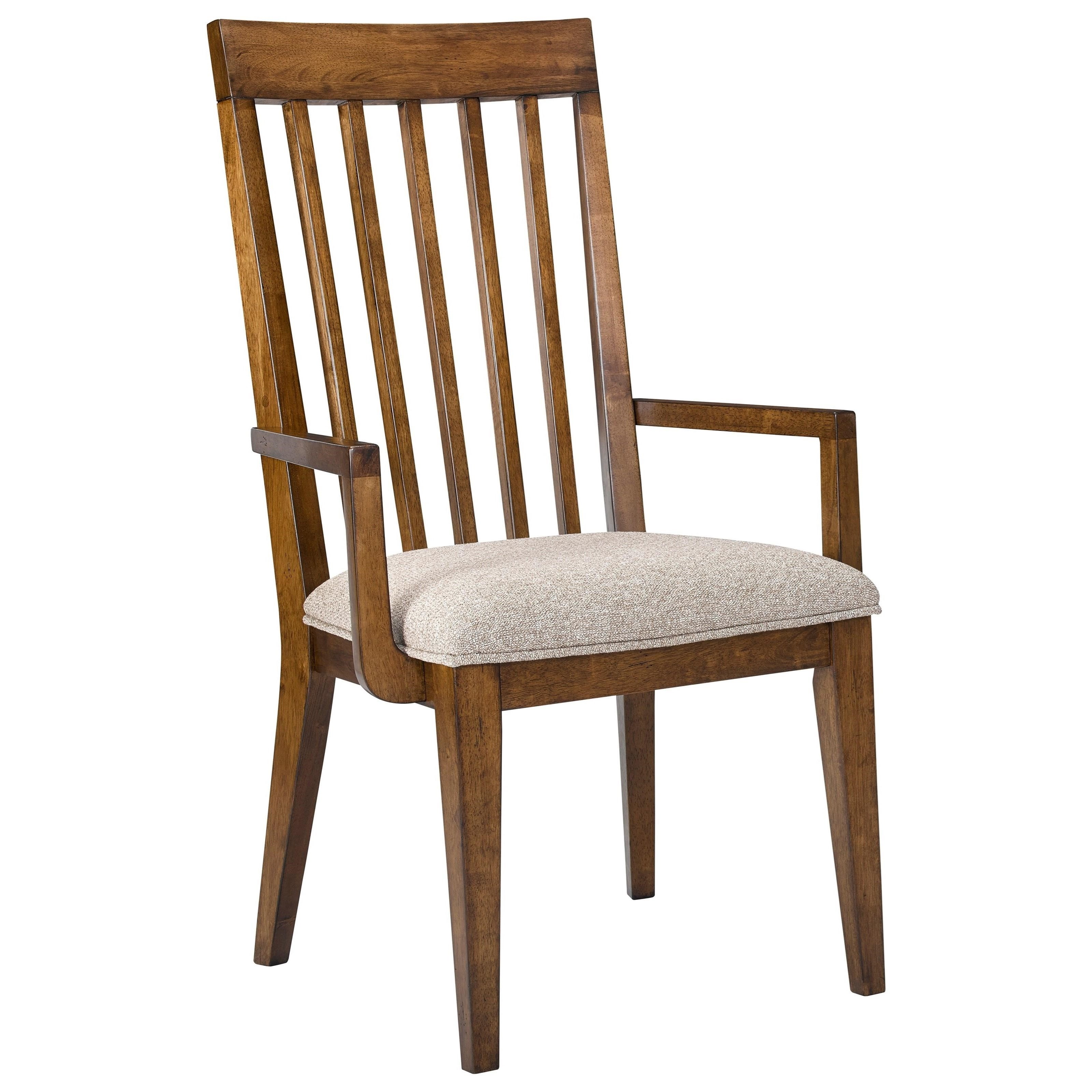 Broyhill furniture winslow park upholstered seat arm chair for Park chair design