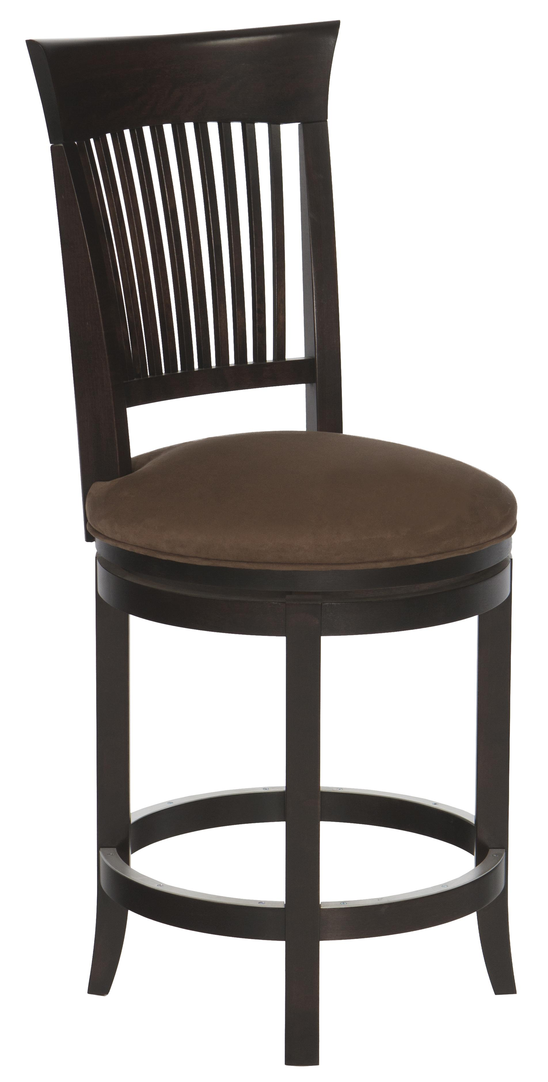 Canadel Bar Stools Customizable 26 Quot Upholstered Swivel