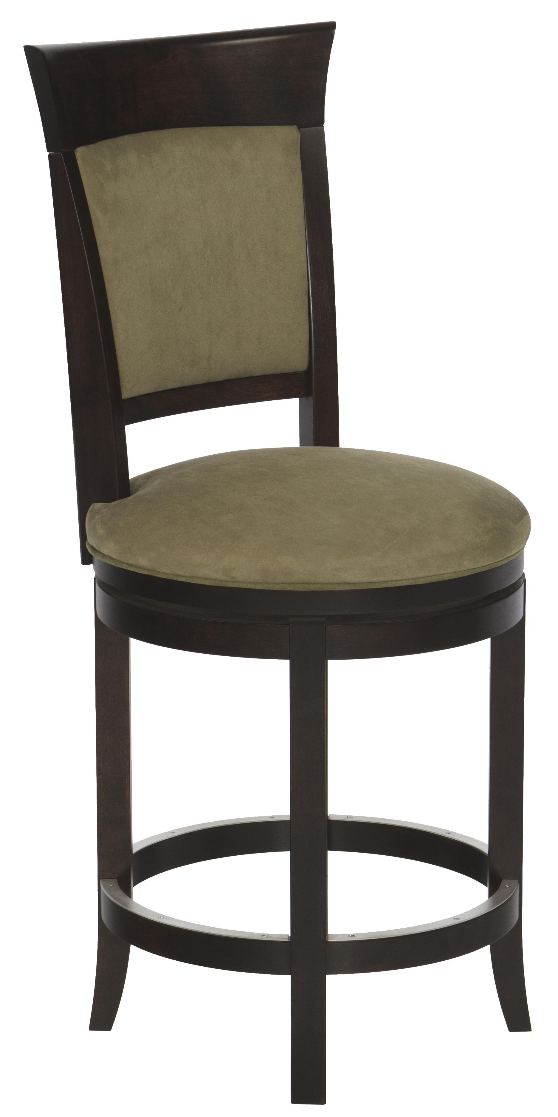 Canadel Bar Stools Customizable 24 Upholstered Swivel Stool Jacksonville Furniture Mart Bar