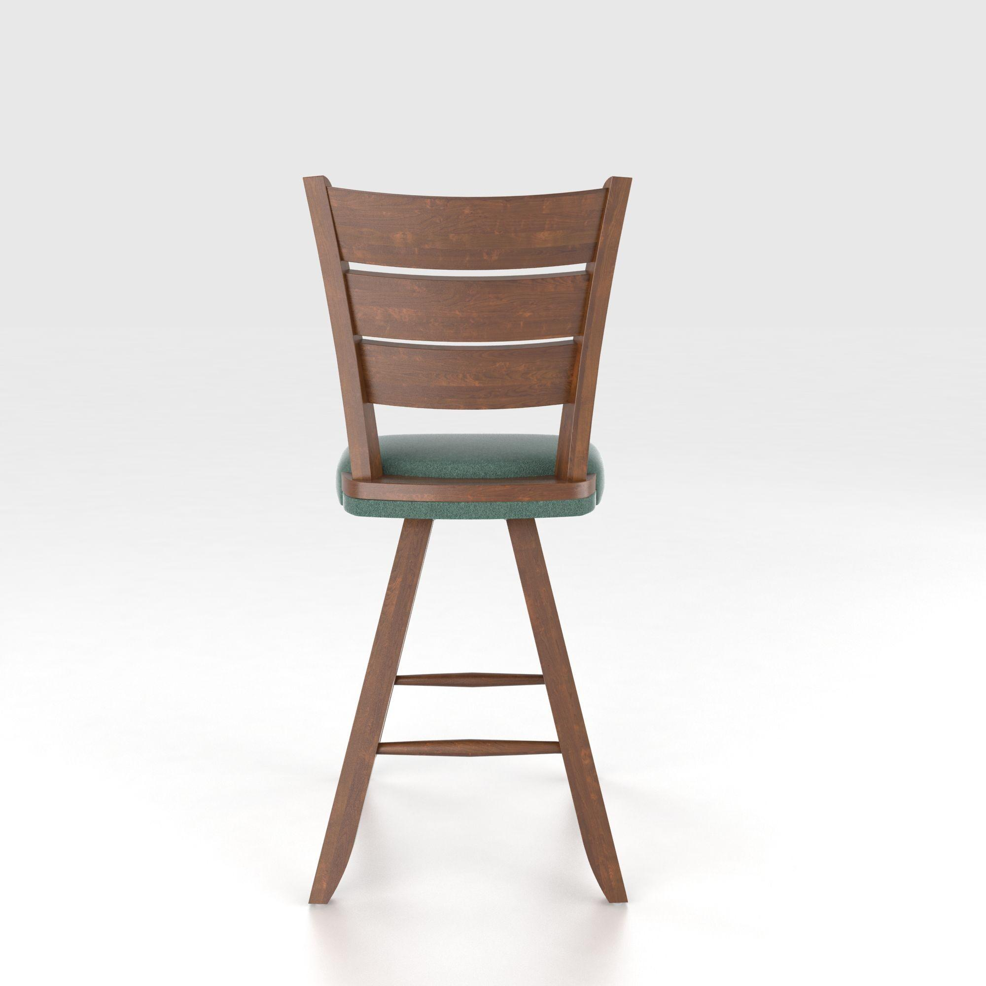 Canadel Bar Stools Customizable 24 Upholstered Swivel