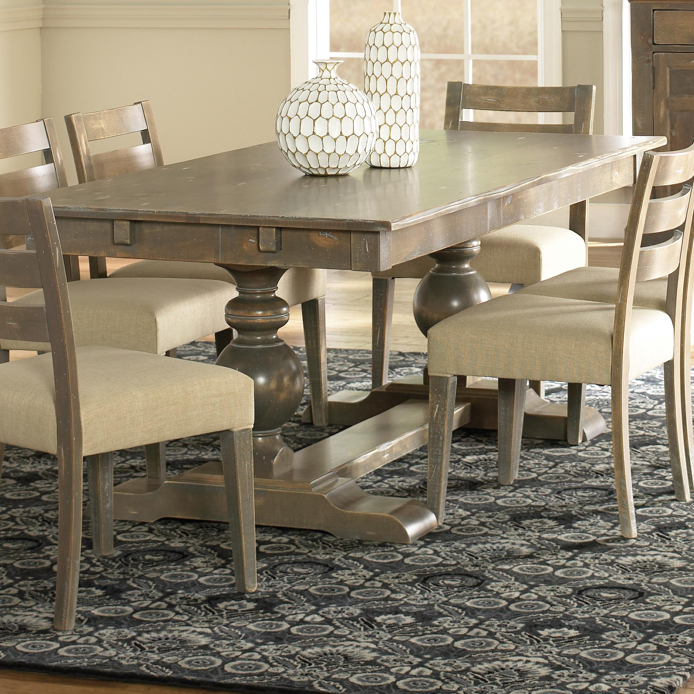canadel champlain custom dining tre038784949dbtnf bas customizable rectangular table with. Black Bedroom Furniture Sets. Home Design Ideas