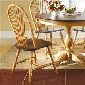 Canadel Custom Dining Customizable Round Table With Pedestal Dinette Depot