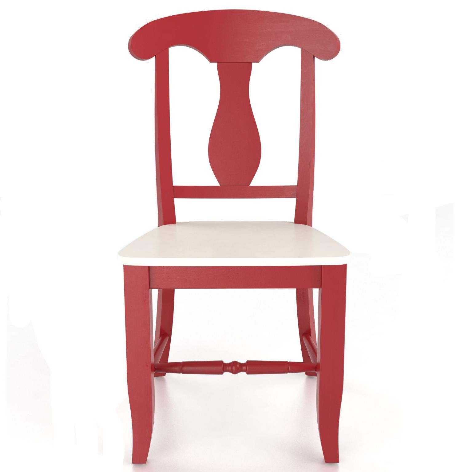 Superb img of  Side Chair Wood Seat Gill Brothers Furniture Dining Side Chair with #963538 color and 1535x1535 pixels