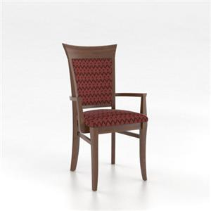 New classic annandale ladder back side chair with for Custom dining room chair cushions