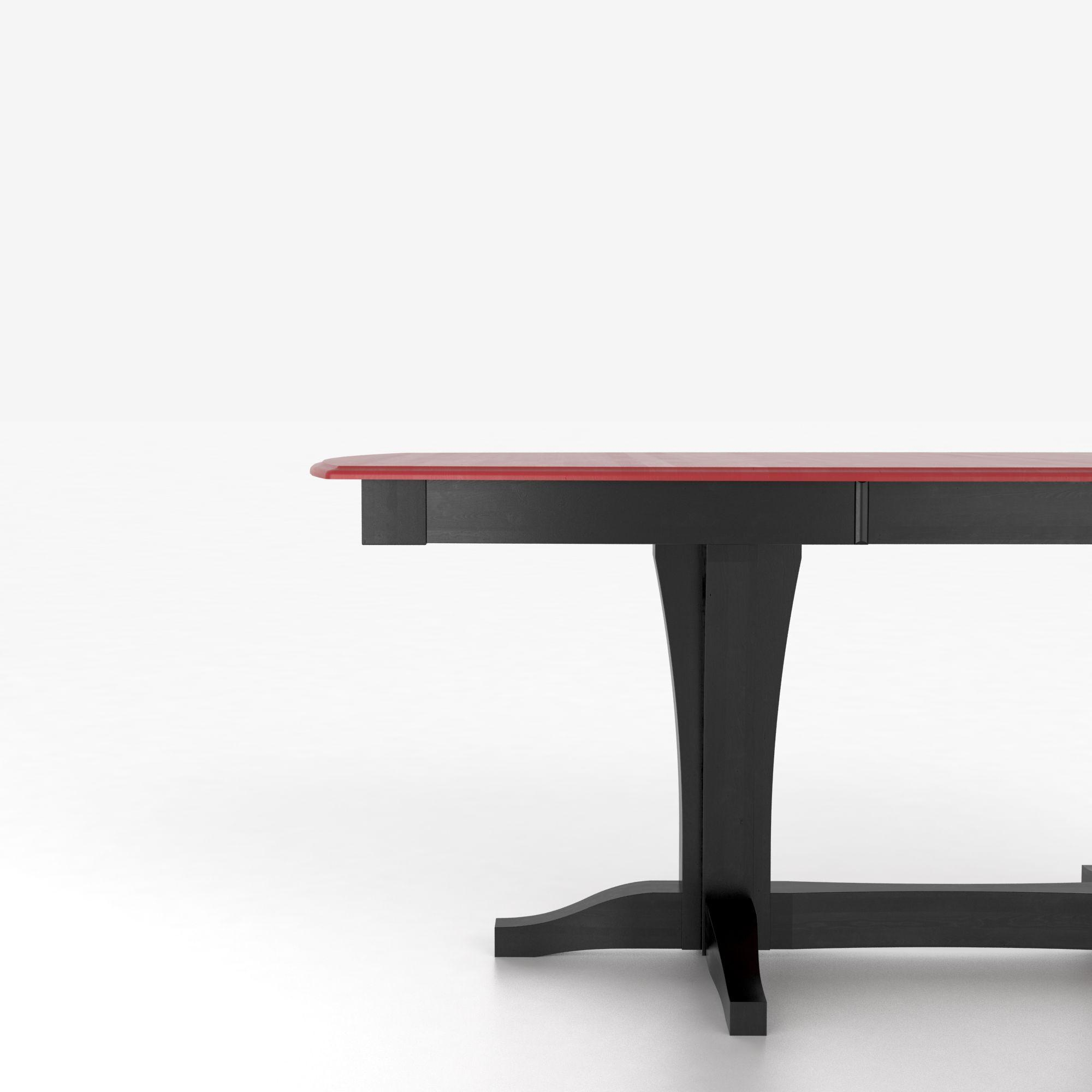 Canadel custom dining counter height tables for Unique shaped dining tables