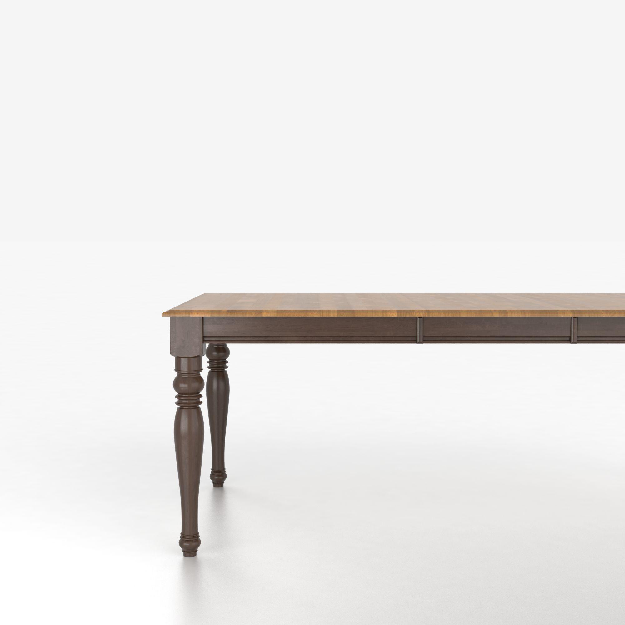 Canadel custom dining tables tre038680129mtda1 for Custom dining tables