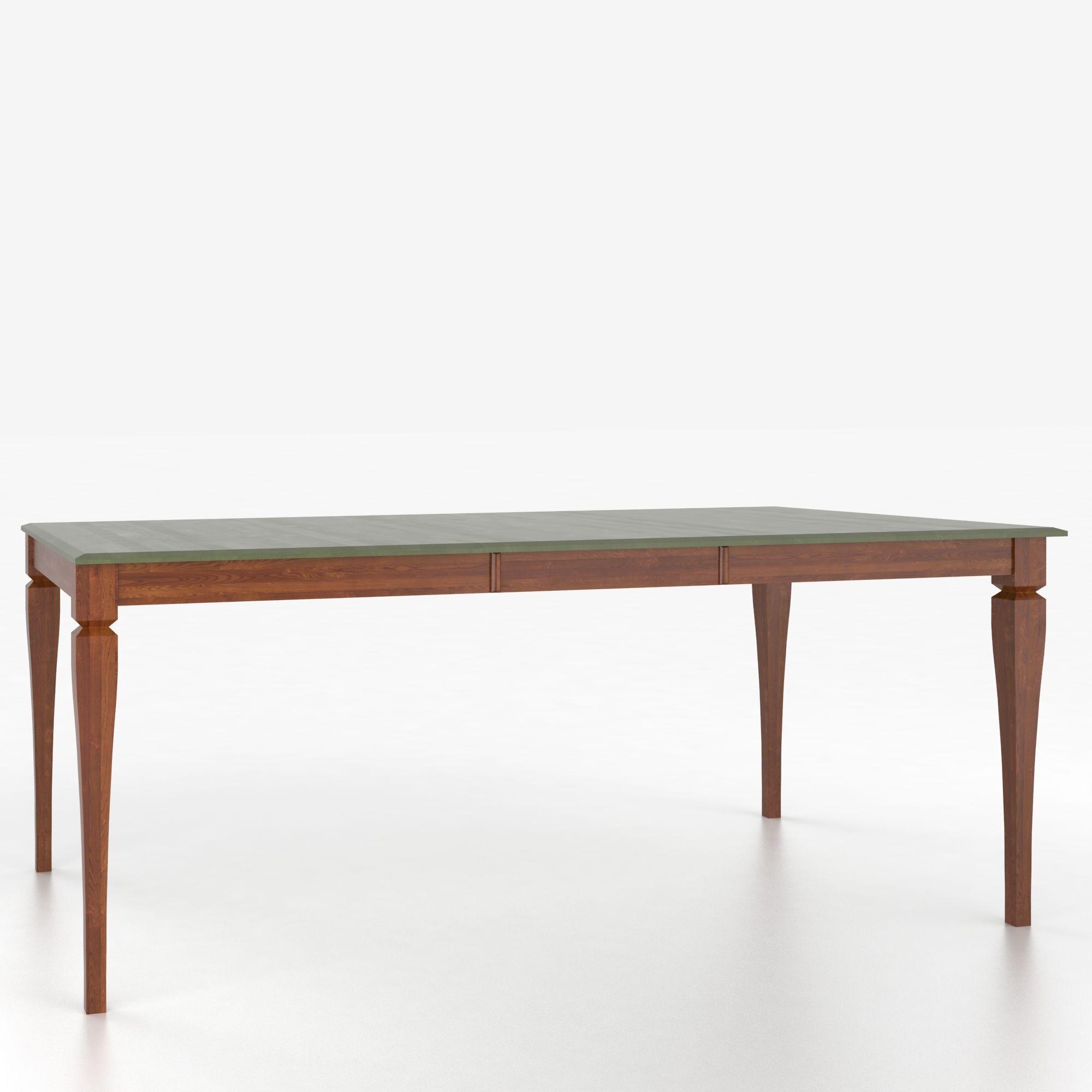 Canadel custom dining tables tre048680101mpeb1 for Custom dining room tables