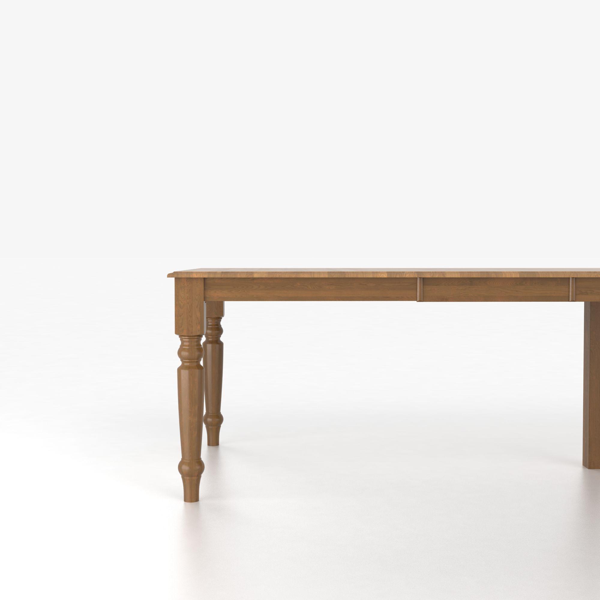Canadel custom dining tables customizable rectangular for Custom dining tables