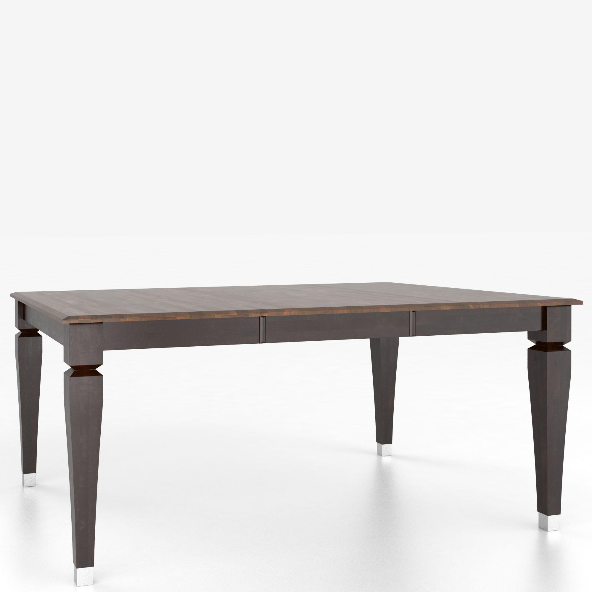 Canadel custom dining tables tsq4848ii 1 customizable for Custom dining tables
