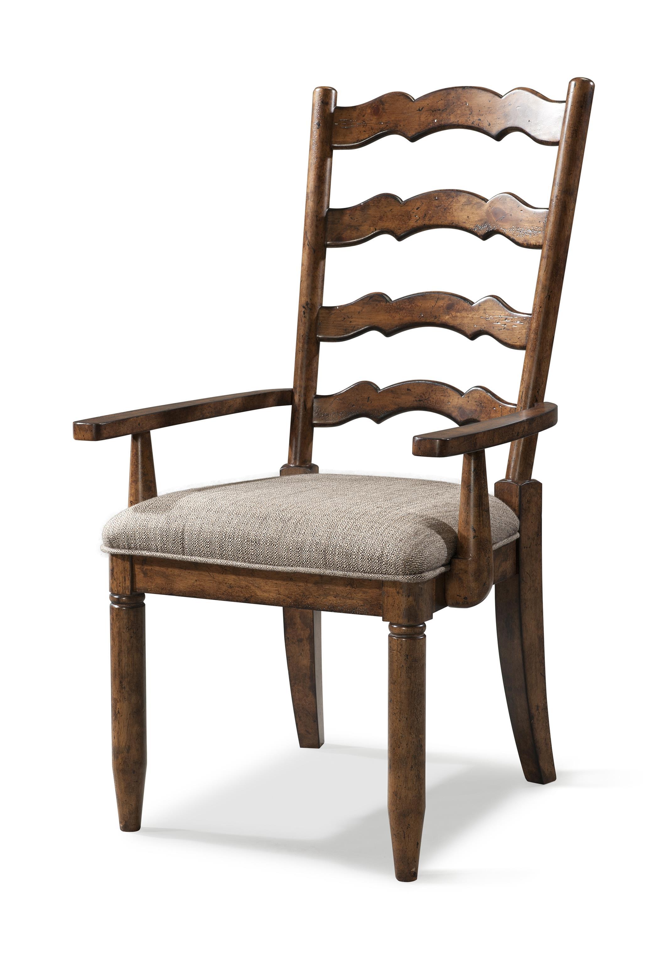 Carolina preserves by klaussner southern pines ladderback for Carolina furniture