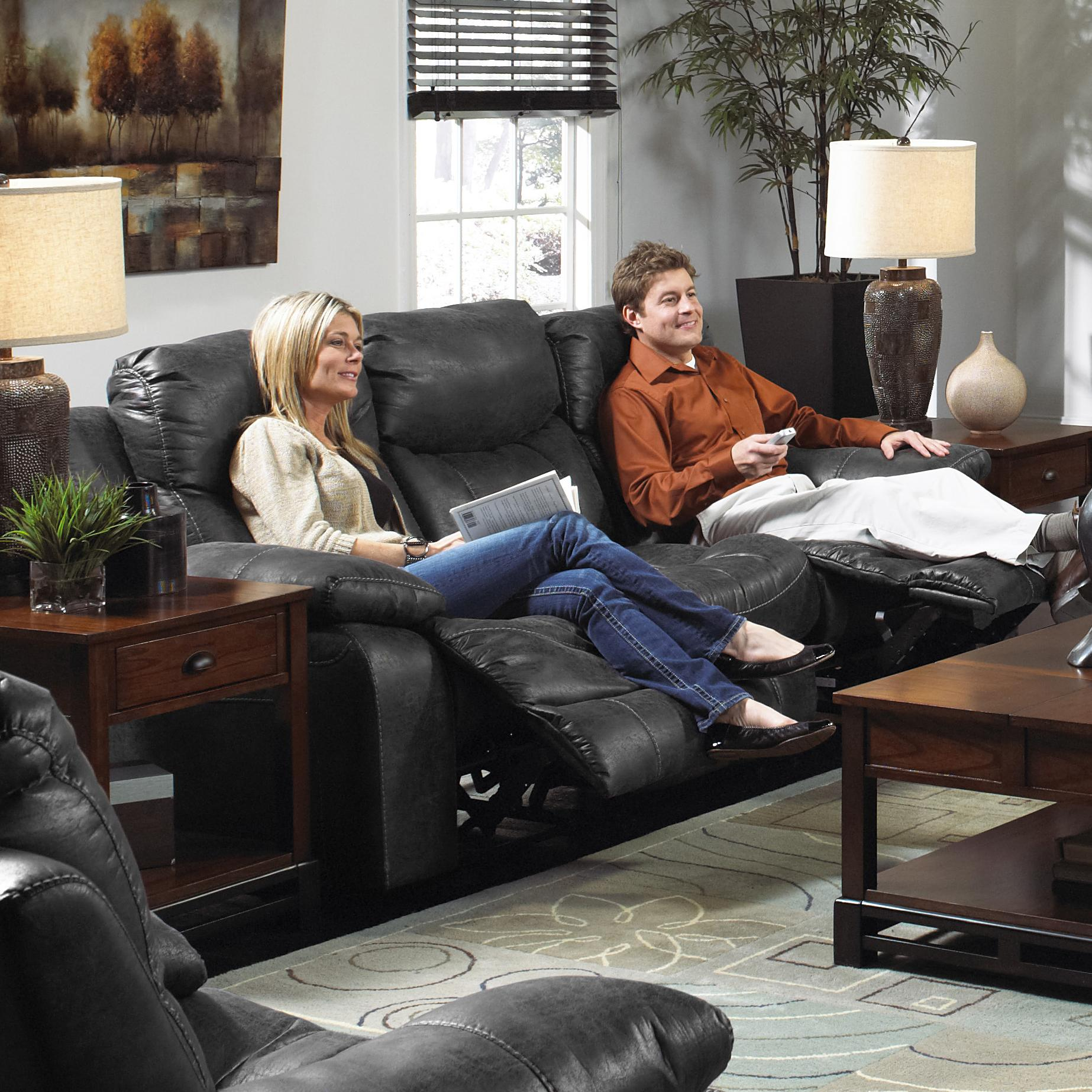 Catnapper catalina 431 comfortable and stylish reclining for Comfortable family sofa
