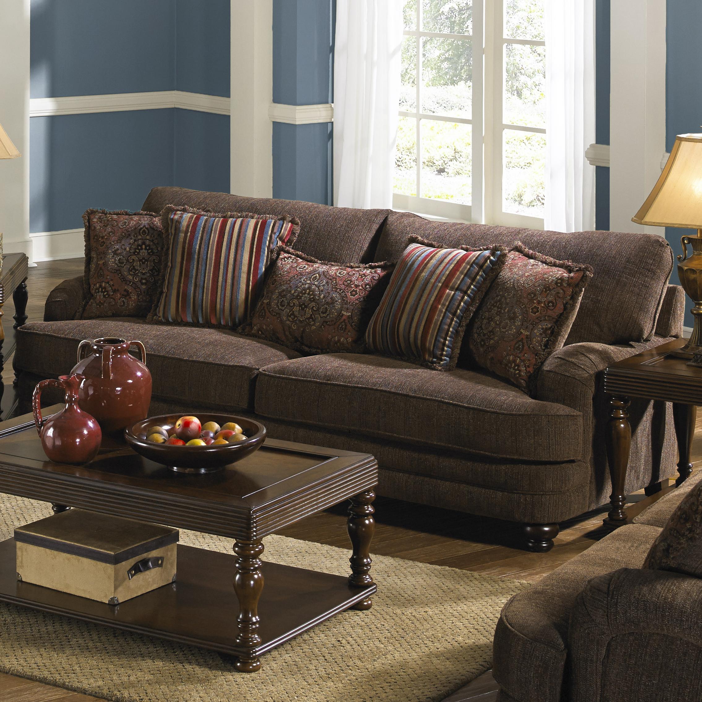 Jackson Furniture Brennan Sofa for Formal Living Rooms