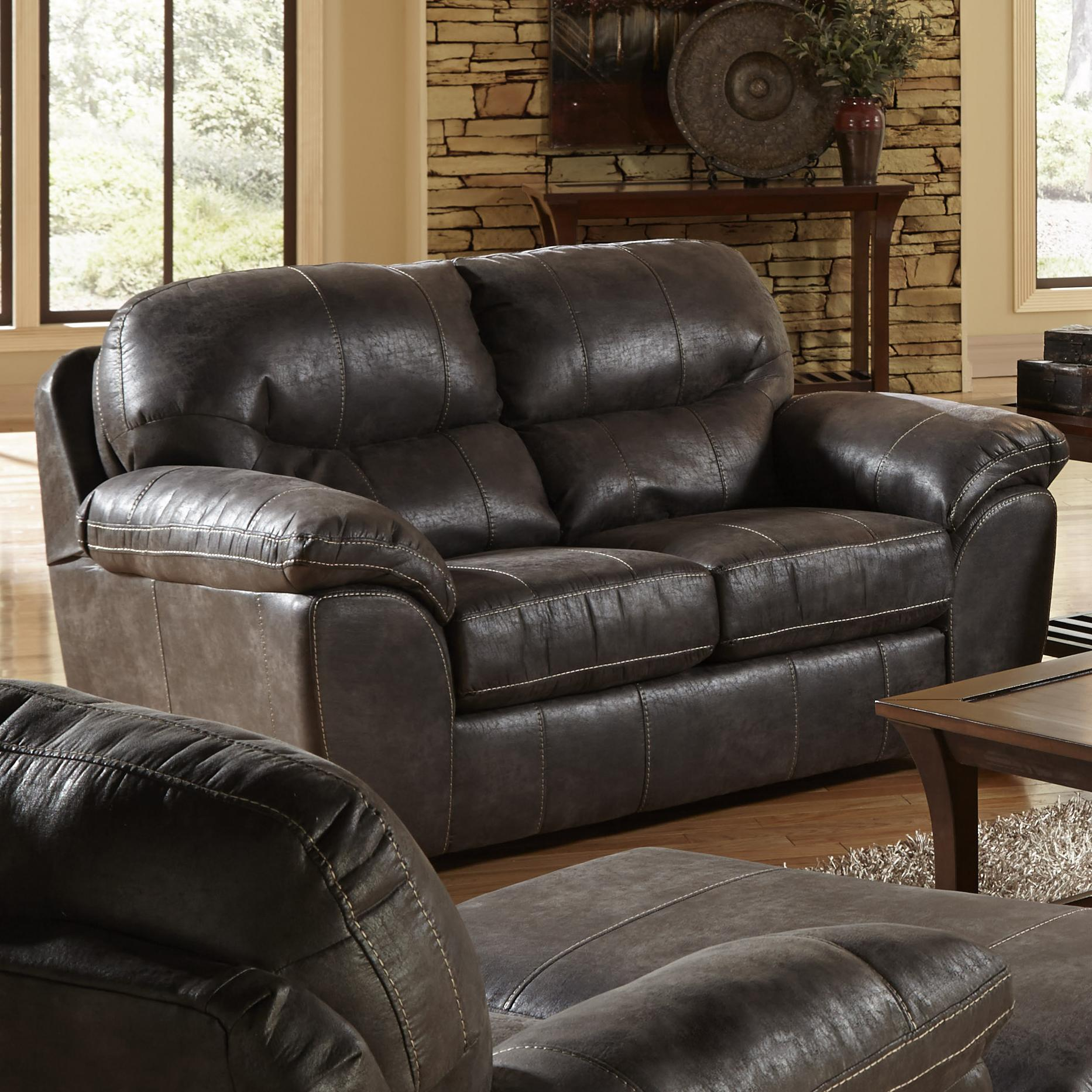 jackson furniture grant loveseat for living rooms and family rooms wayside furniture love seats. Black Bedroom Furniture Sets. Home Design Ideas