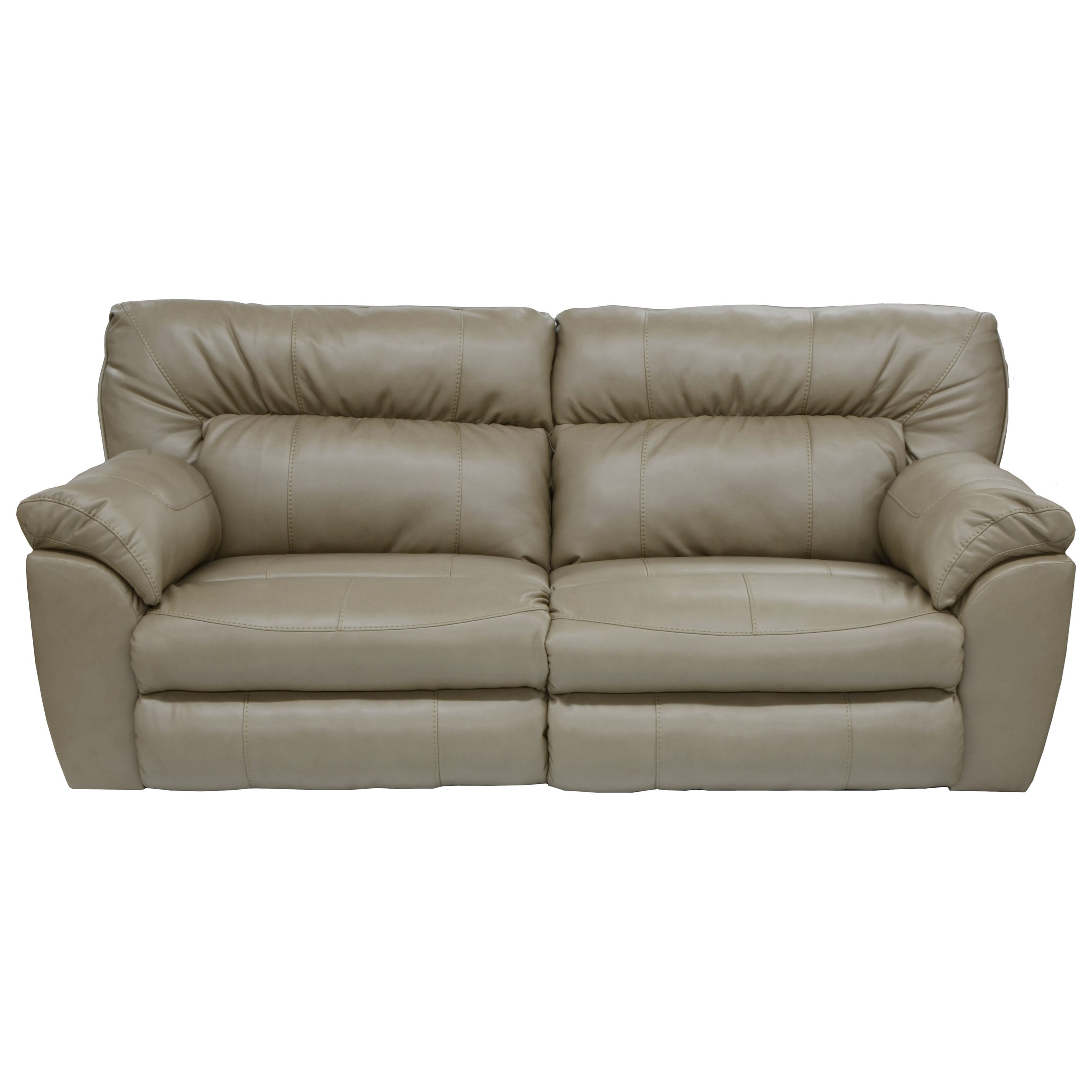 Catnapper nolan power extra wide reclining sofa with for Wide couches