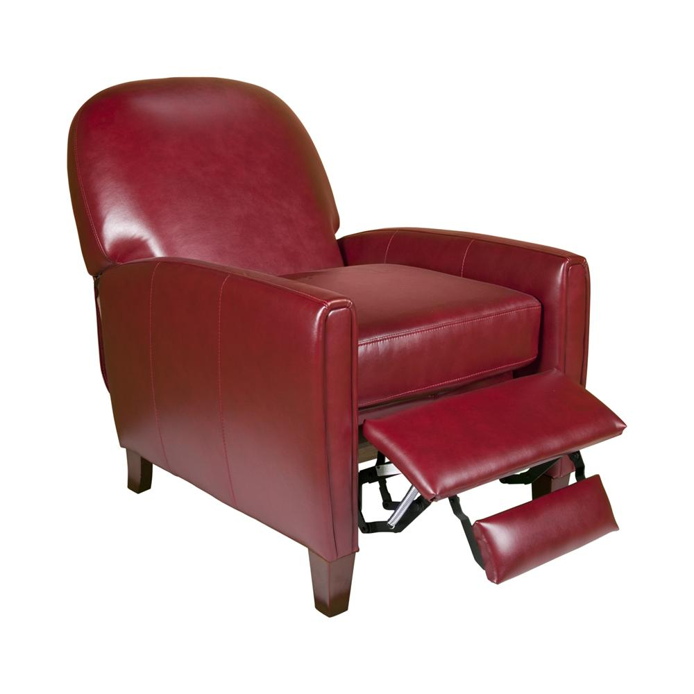 Uk636 contemporary leather chair with curved back morris for Morris home
