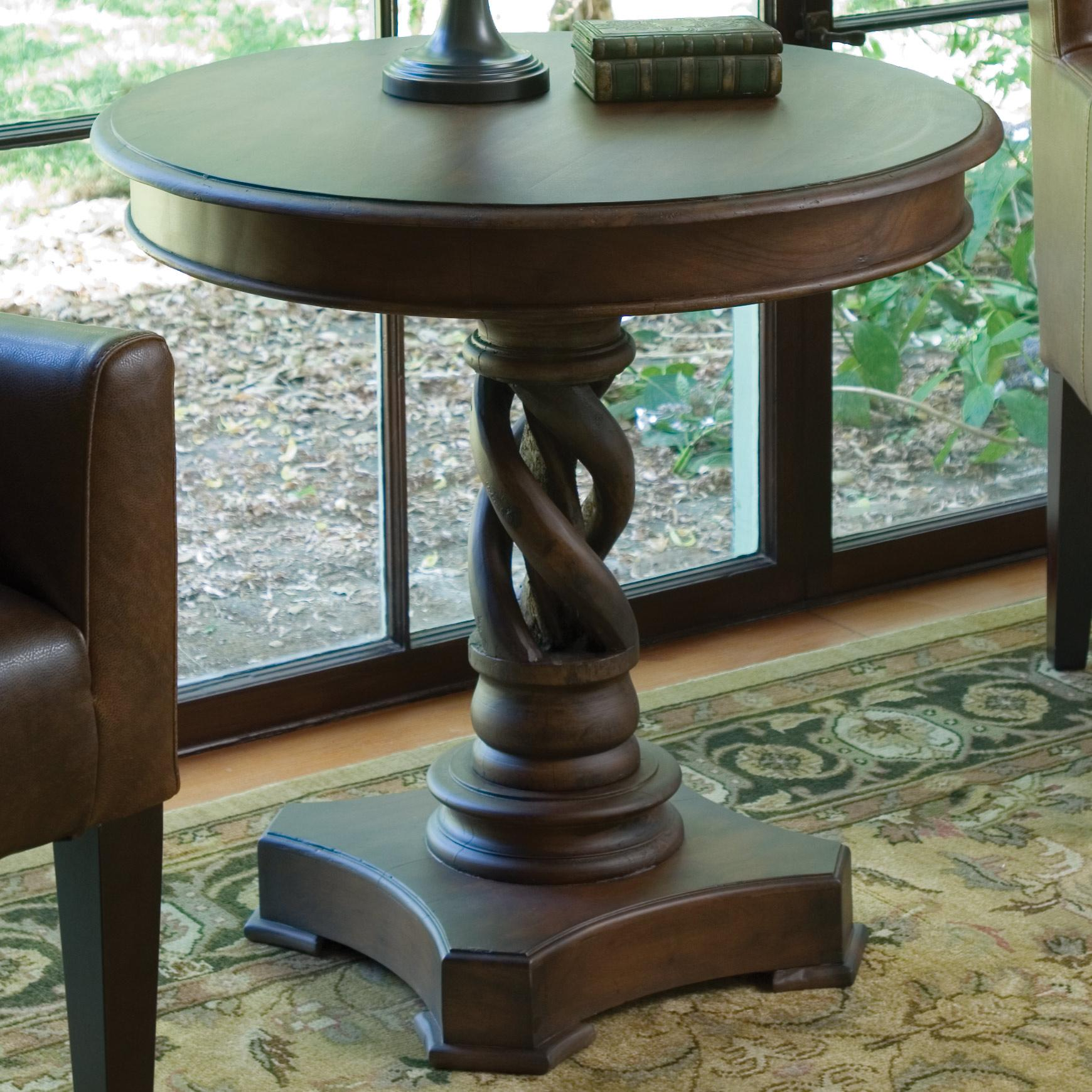 Classic home accent furniture 30 isabella round end table for Classic home furniture jacksonville fl