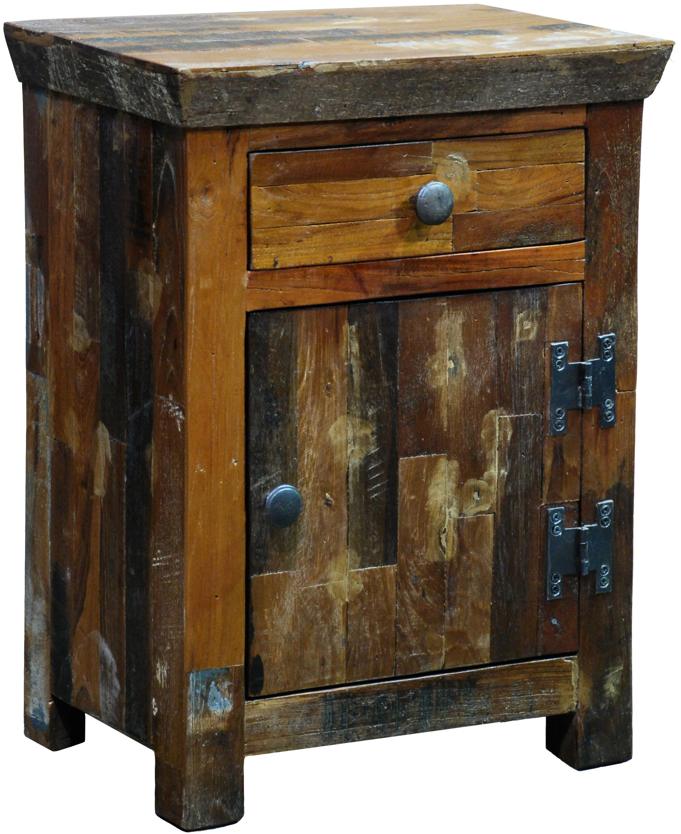 Classic home cambria sonoma nightstand with one drawer for Classic home furniture jacksonville fl