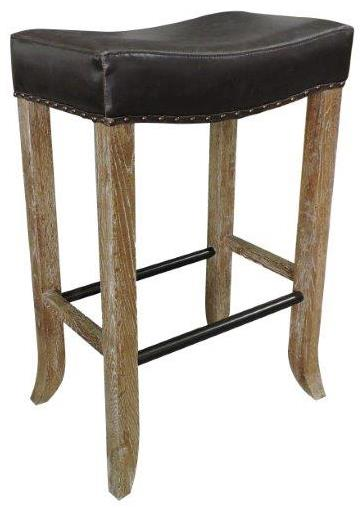 Classic home camille backless bar stool with inspired for Classic home furniture jacksonville fl