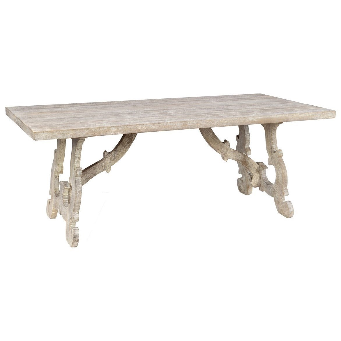 Classic home elena ch 51010555 rectangular transitional for Classic home tables