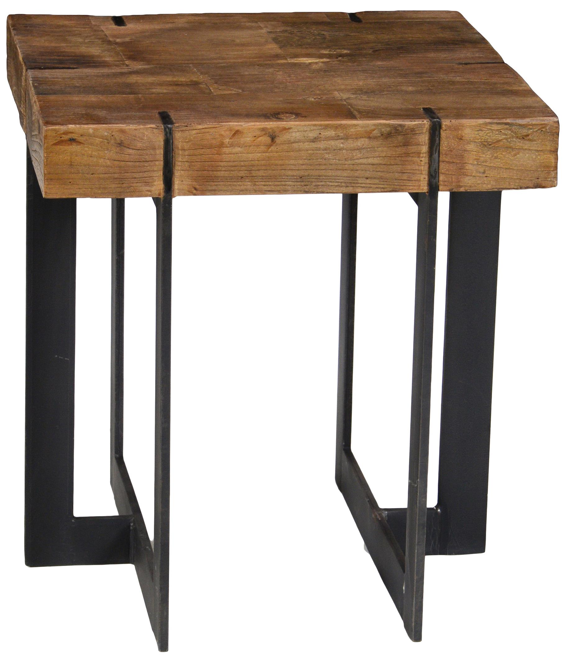 Classic Home Erikson 22 Square End Table With Geometric