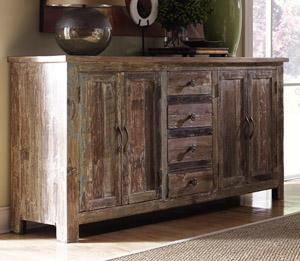 Classic home hampton 4 door and 4 drawer buffet for Classic home furniture jacksonville fl