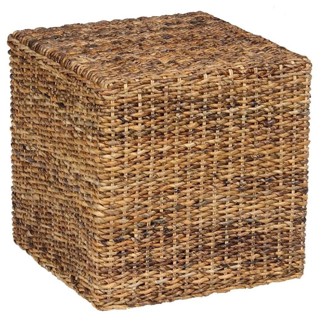Classic Home Kirana Rattan Square Cube Jacksonville Furniture Mart End Tables