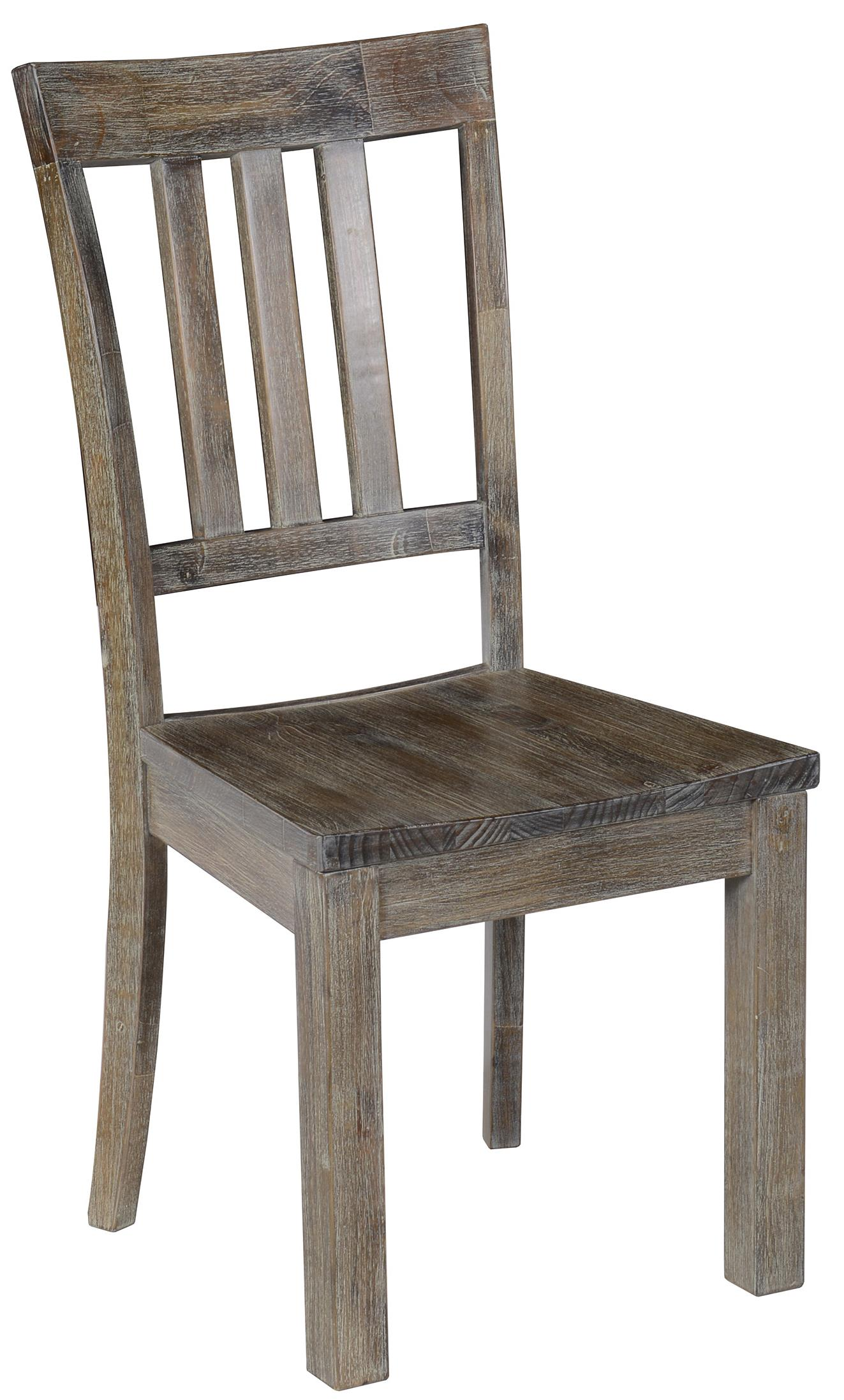 Classic Home Maxwell Dining Side Chair With Vertical Bar Back Jacksonville Furniture Mart