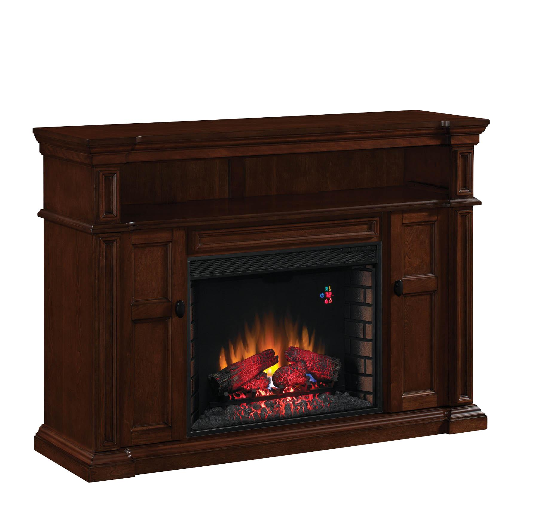 ClassicFlame Wyatt Fireplace TV Console Mantel with
