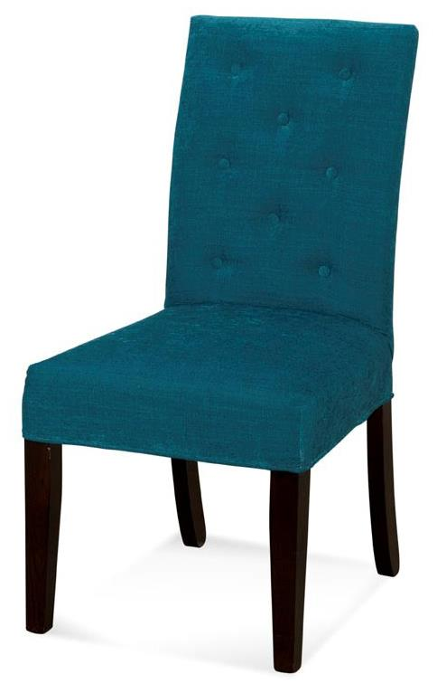 Parson chairs upholstered parson chair with tufted back by for Upholstered parson dining chairs