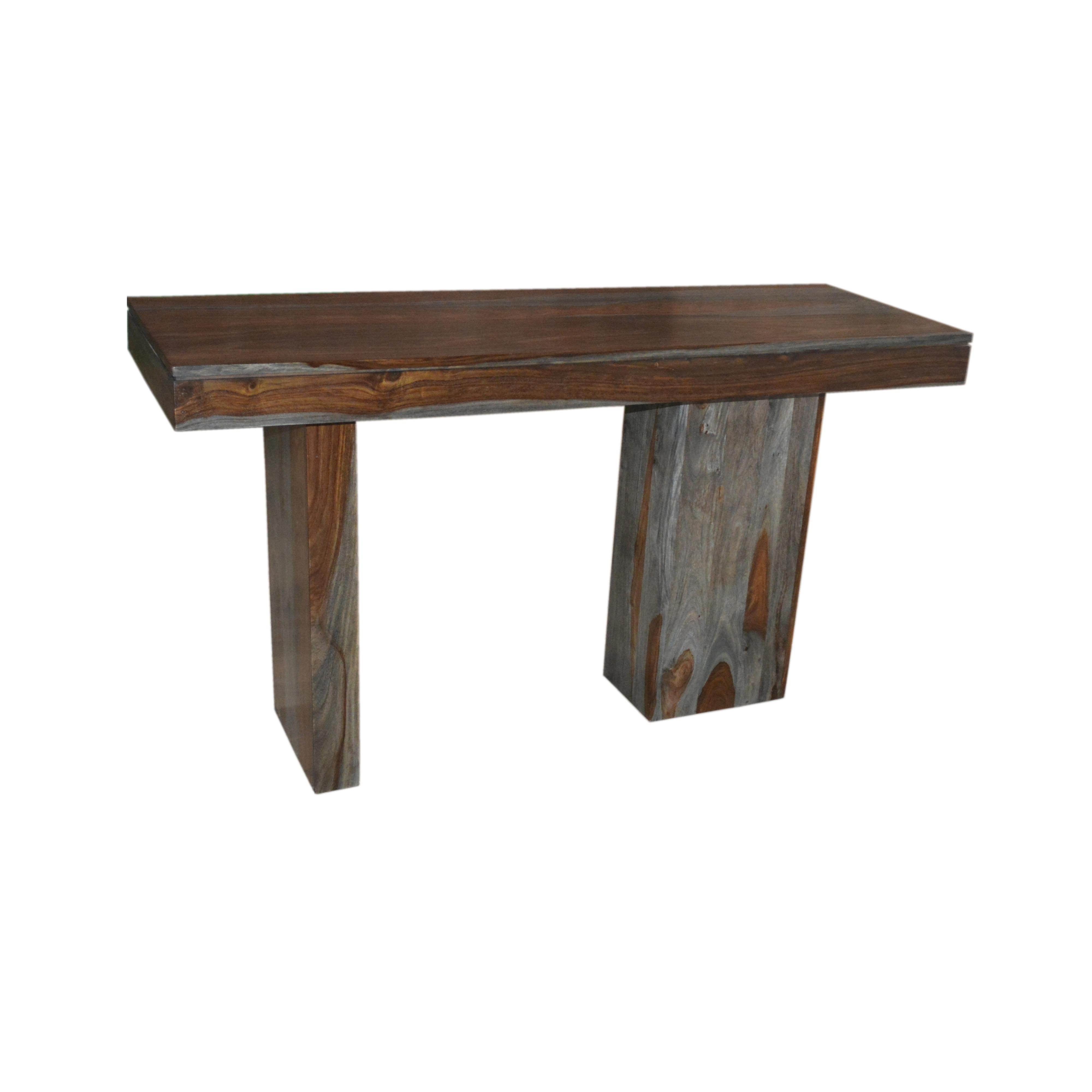 Coast to coast imports grayson console table boulevard for Sofa table rules