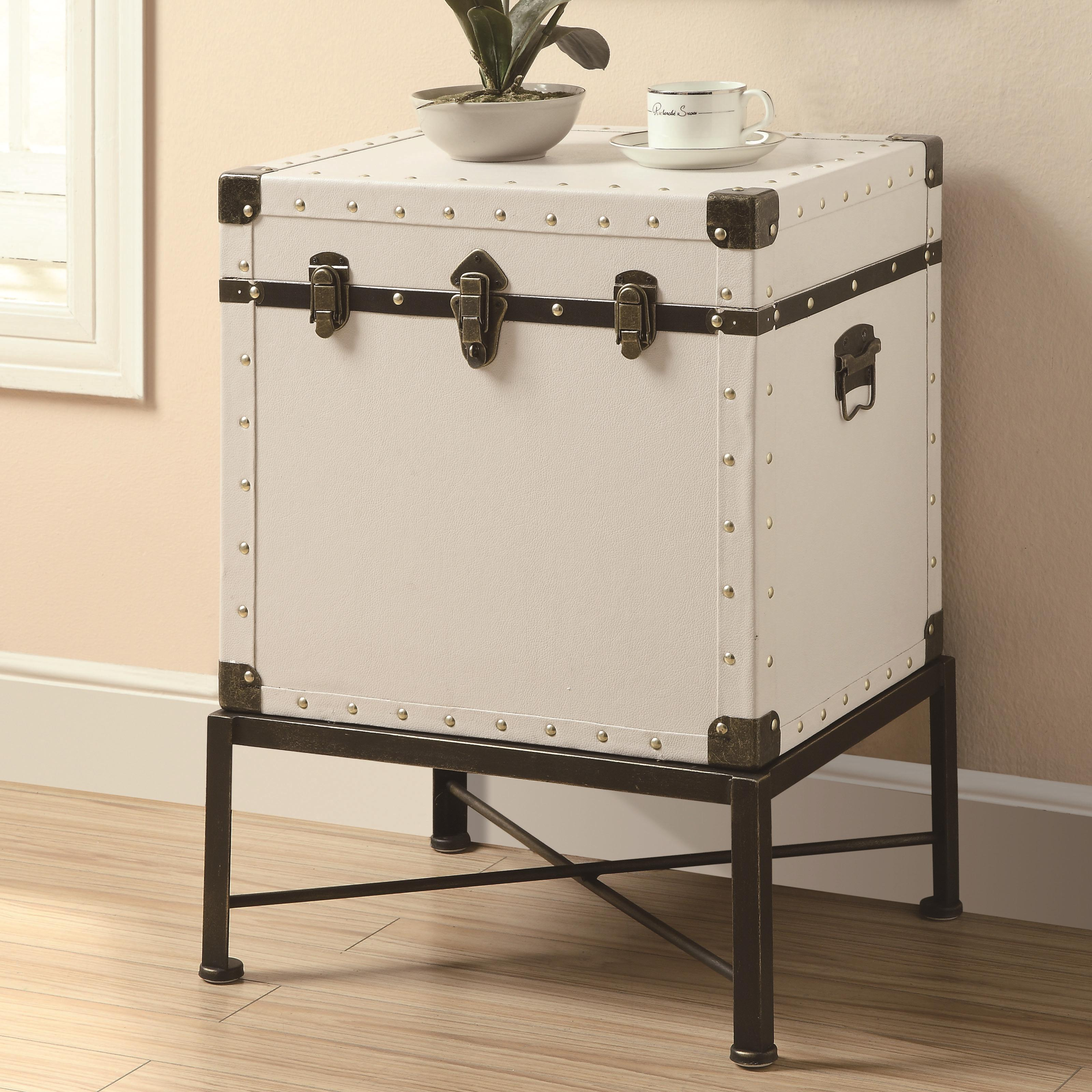 Favorite Coaster Accent Cabinets Trunk-style Accent Side Table | FMG  VX52